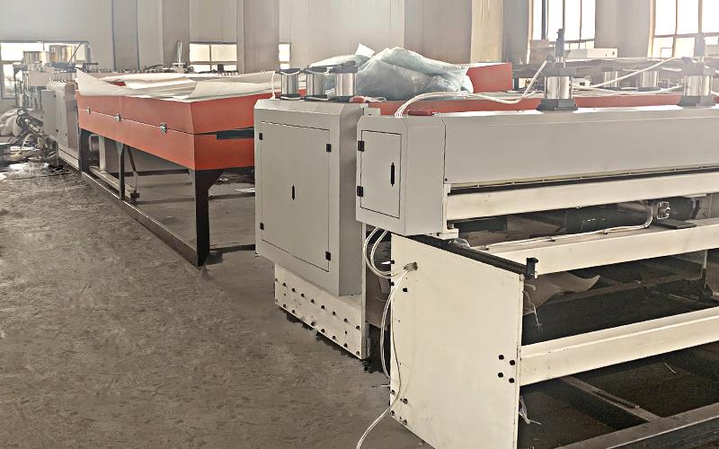 中空板生产线工厂